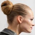 Як зробити пучок із волосся
