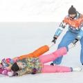 Зимові травми на ковзанах, лижах, гірках