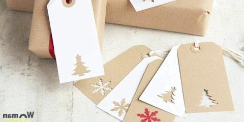 Новорічні бирки на подарунки: 15 шаблонів для друку
